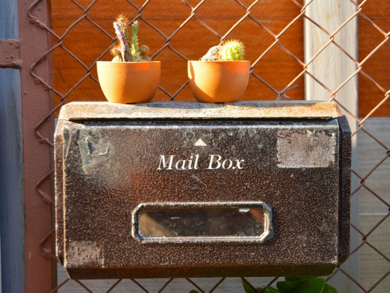 mail box, postage, mail