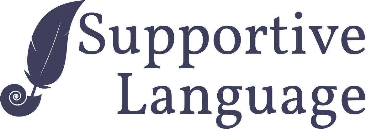 Supportive Language